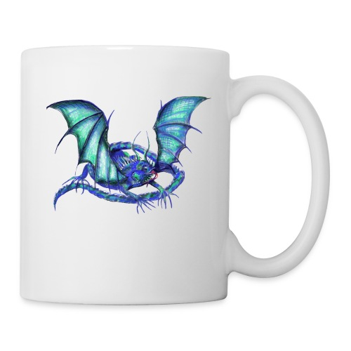 lizard dragon - Coffee/Tea Mug