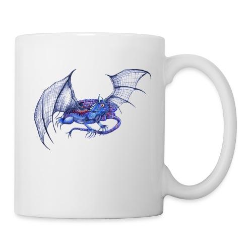Long tail blue dragon - Coffee/Tea Mug