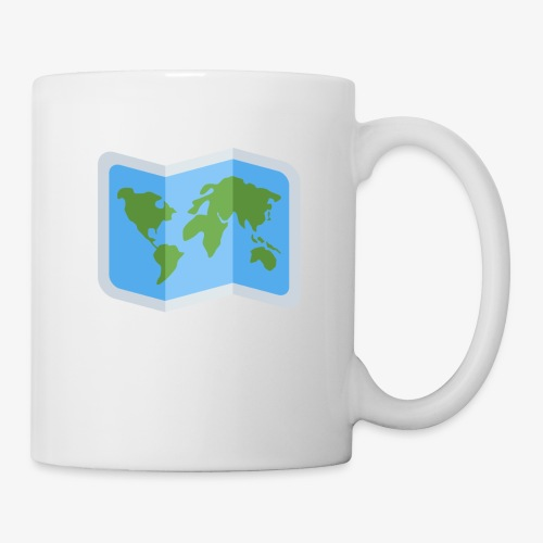 Awesome artsy Earth map - Coffee/Tea Mug