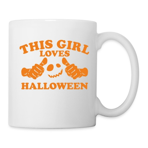 This Girl Loves Halloween - Coffee/Tea Mug