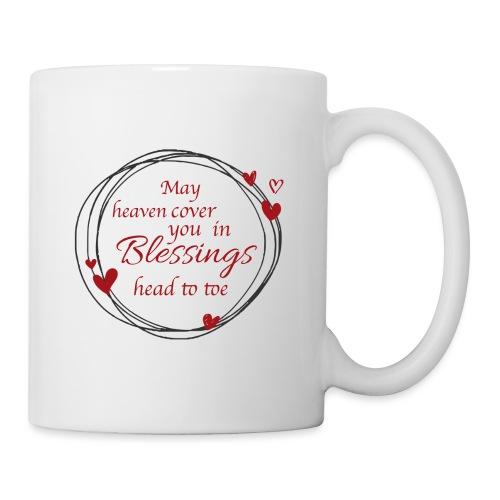 Blessings head to toe hearts - Coffee/Tea Mug