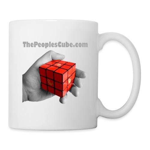 Cube in hand - Coffee/Tea Mug