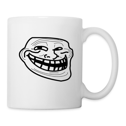 Troll Face short sleeved shirt - Coffee/Tea Mug