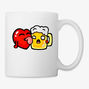 I love beer too much - Coffee/Tea Mug