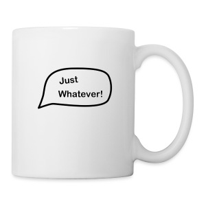 Just Whatever Logo - Coffee/Tea Mug