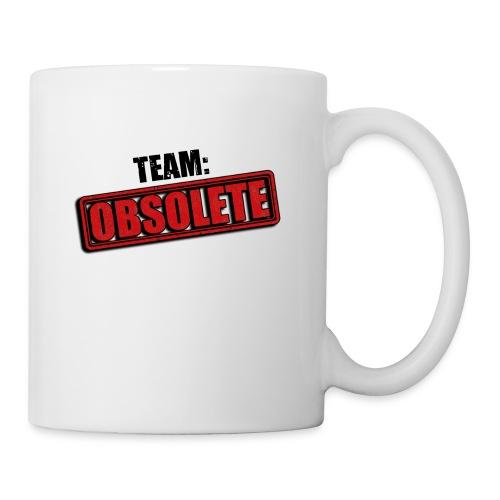 team obsolete trans - Coffee/Tea Mug