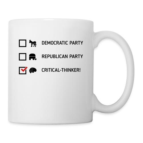 Critical-Thinker 2.0 - Coffee/Tea Mug