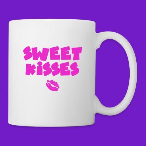 SWEET KISSES PINK PRINT - Coffee/Tea Mug