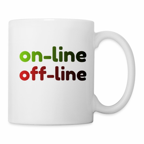 on off line - Coffee/Tea Mug