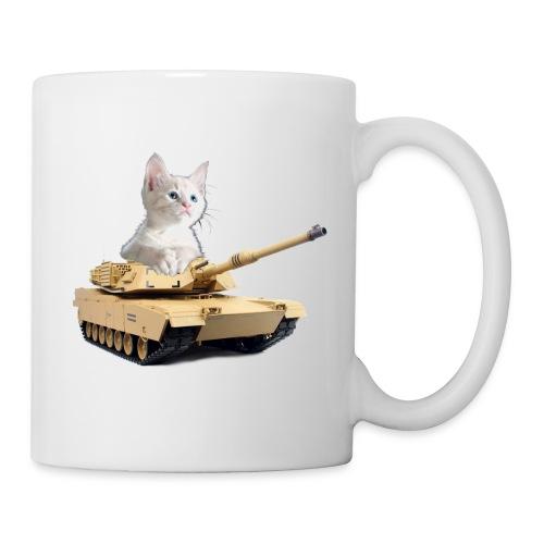 Tank Cat - funny Cat in a rc tank - Coffee/Tea Mug