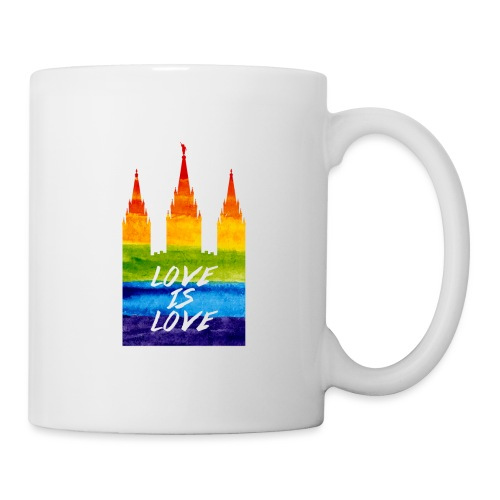 Mormon gay temple love is love - Coffee/Tea Mug