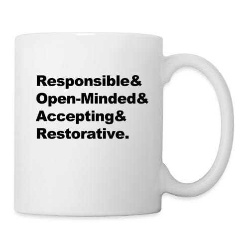 ROAR Helvetica - Coffee/Tea Mug