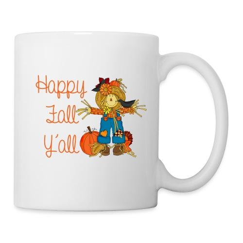 happy fall yall - Coffee/Tea Mug