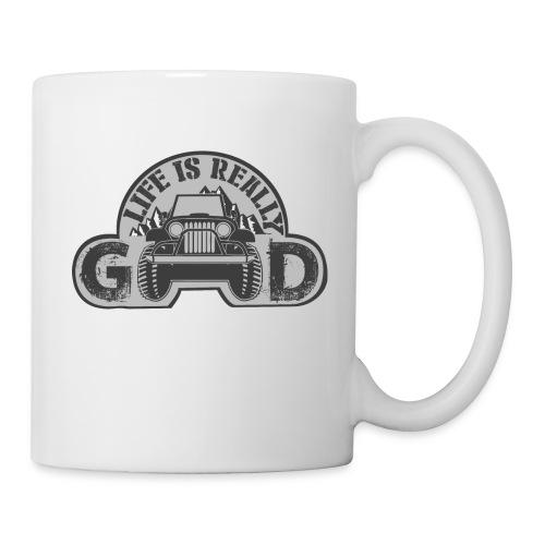 Life Is Really Good Jeep - Coffee/Tea Mug