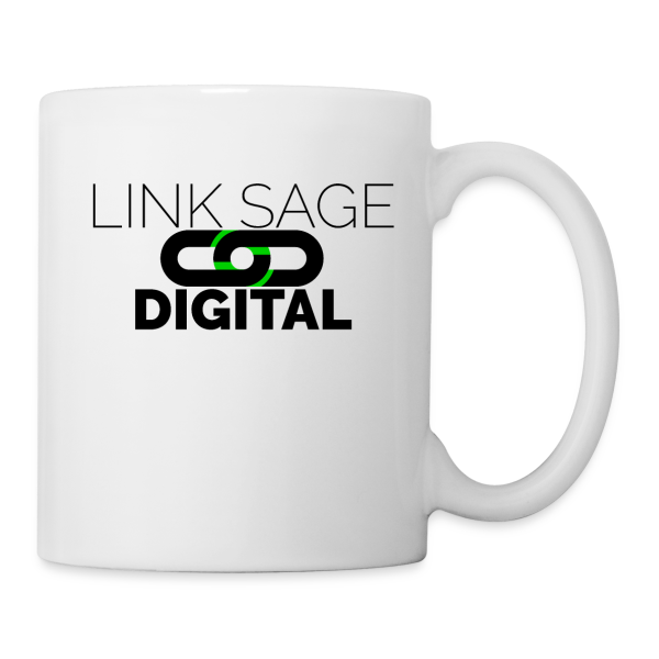 Link Sage Digital Logo with Text - Coffee/Tea Mug