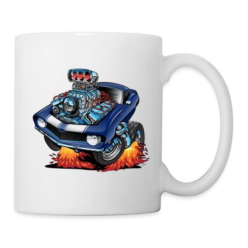 Classic Sixties American Muscle Car Cartoon - Coffee/Tea Mug