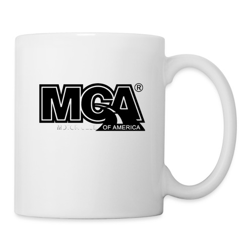 MCA Logo WBG Transparent BLACK TITLEfw fw png - Coffee/Tea Mug