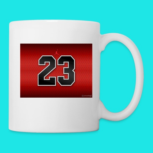 Jordan_Bulls_Jersey - Coffee/Tea Mug
