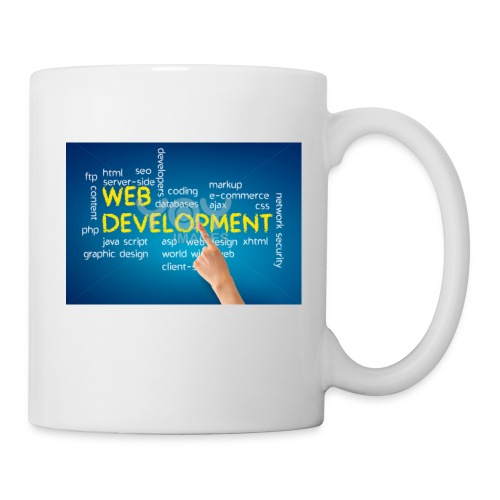 web development design - Coffee/Tea Mug