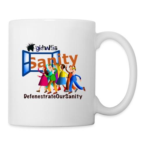 Defenestrate Our Sanity - Coffee/Tea Mug