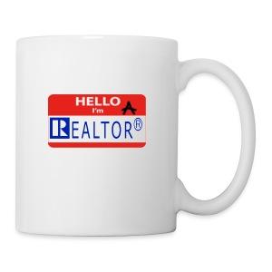 REALTOR NAME TAG - Coffee/Tea Mug