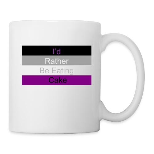 Asexual Cake Flag - Coffee/Tea Mug