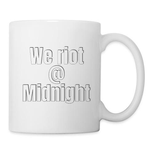 we riot at midnight - Coffee/Tea Mug