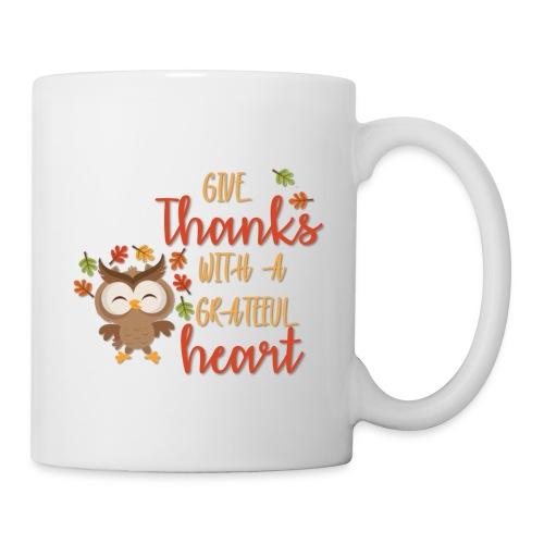 Give Thanks - Coffee/Tea Mug