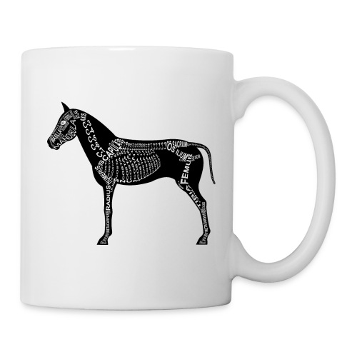 Skeleton Horse - Coffee/Tea Mug
