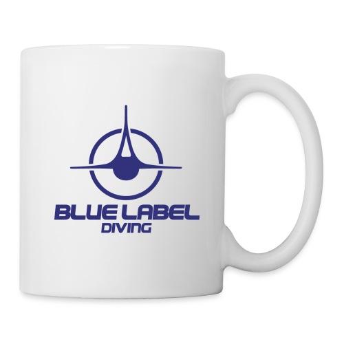 BLD logo with text blue - Coffee/Tea Mug