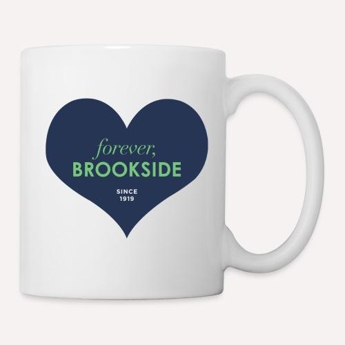 Forever Brookside Navy with Mint - Coffee/Tea Mug