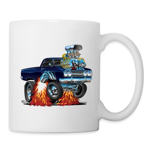 Classic Sixties Muscle Car Cartoon - Coffee/Tea Mug