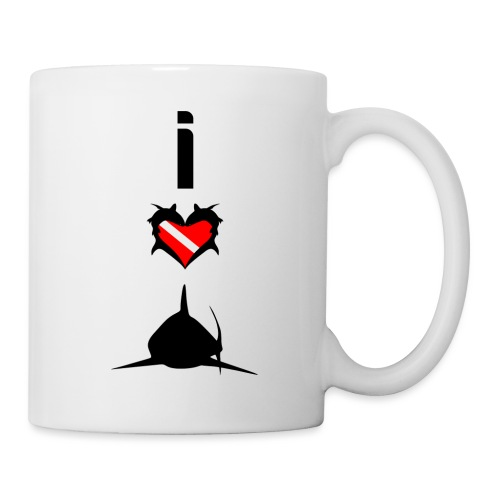I Love Sharks - Coffee/Tea Mug