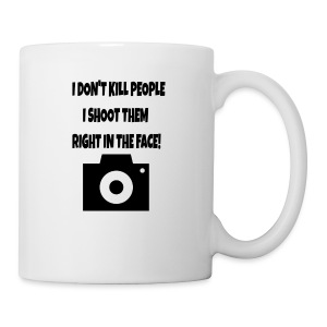 right in the face - Coffee/Tea Mug