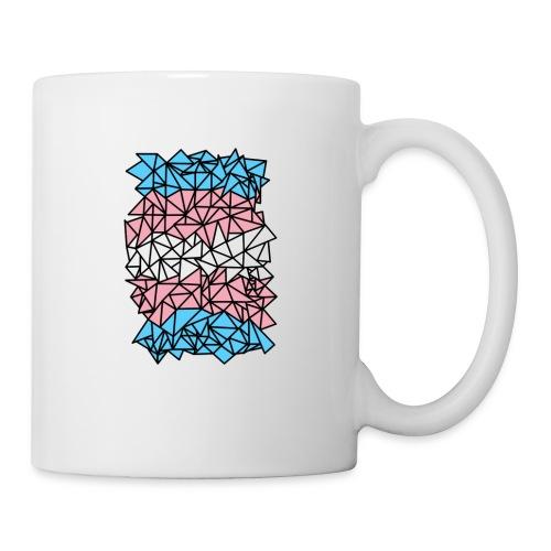 Transgender Crystallized Flag - Coffee/Tea Mug