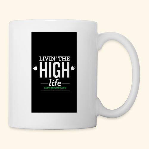 livin the high life - Coffee/Tea Mug