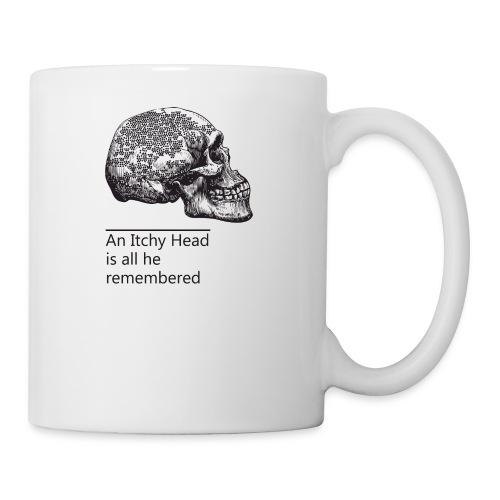 skull holes - Coffee/Tea Mug