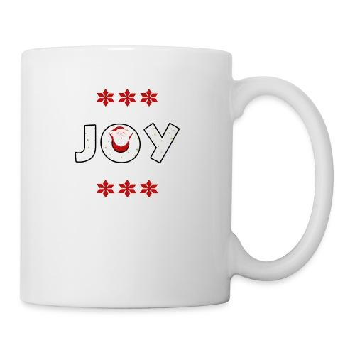 Christmas JOY Santa Clause Ugly Style - Coffee/Tea Mug