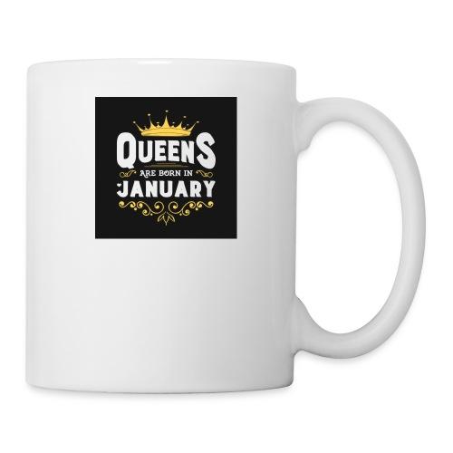 Queens are born in January - Coffee/Tea Mug