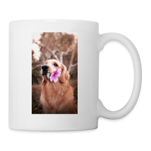 Golden with flower - Coffee/Tea Mug