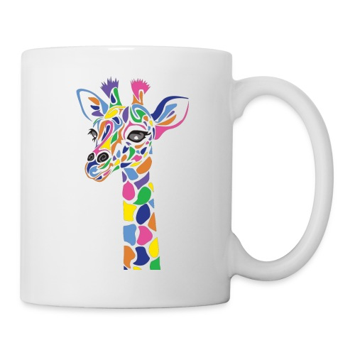 Art Deco giraffe - Coffee/Tea Mug