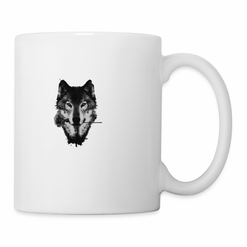 Wolf and Rose Black - Coffee/Tea Mug