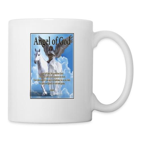 Angel of God, My guardian Dear (version with sky) - Coffee/Tea Mug