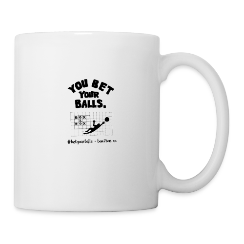 You Bet Your Balls on White - Coffee/Tea Mug