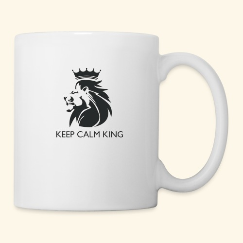 The King Never Panics - Coffee/Tea Mug