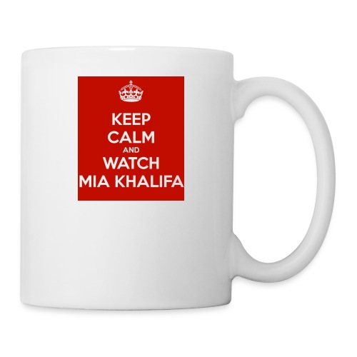 keep-calm-and-watch-mia-khalifa - Coffee/Tea Mug