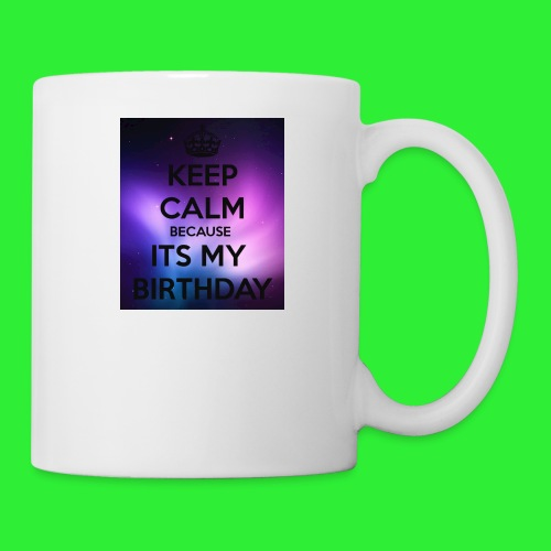 keep calm its my birthday - Coffee/Tea Mug