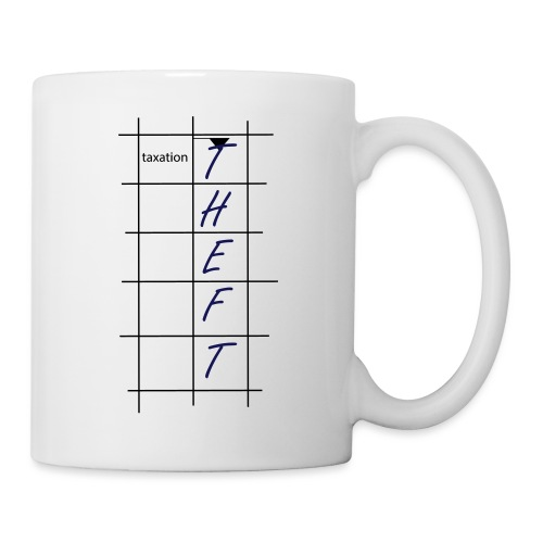 Taxation is Theft Crossword - Coffee/Tea Mug