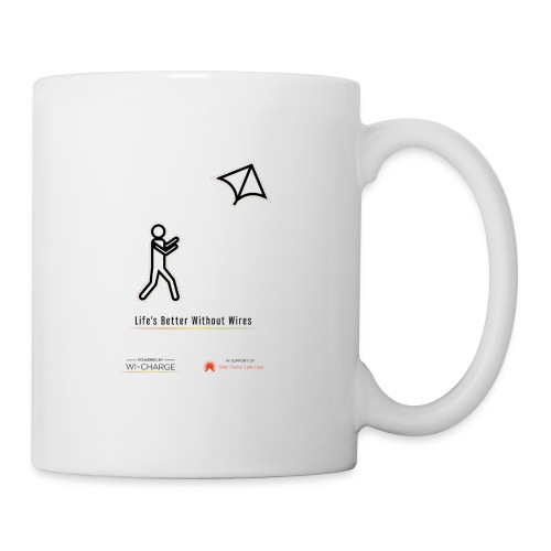 Life's better without wires: Kite - SELF - Coffee/Tea Mug