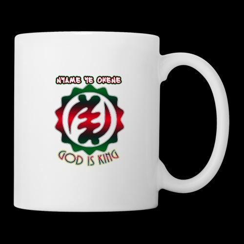 God is King Adinkra - Coffee/Tea Mug